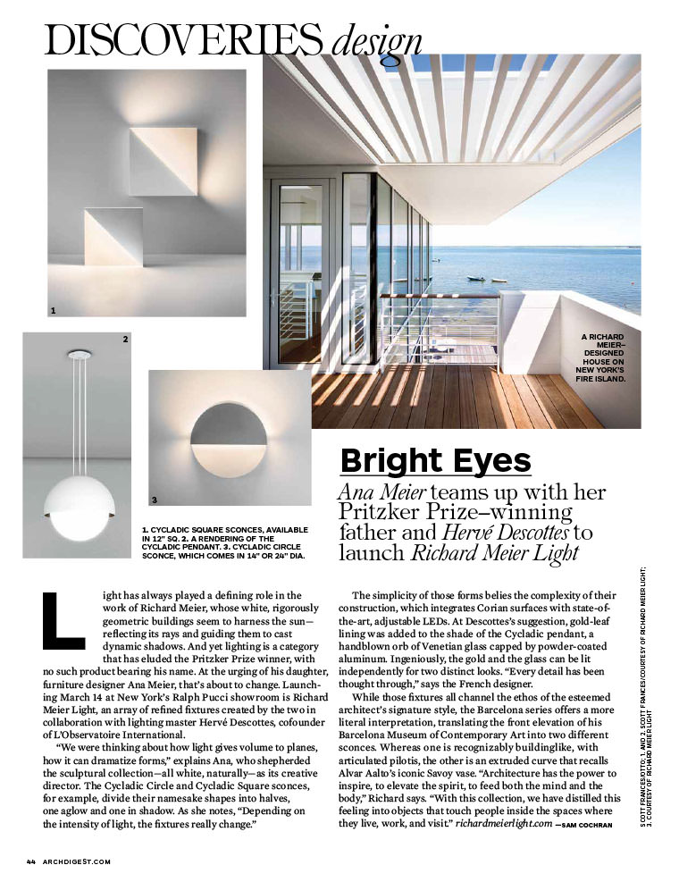 Architectural Digest Inside Page